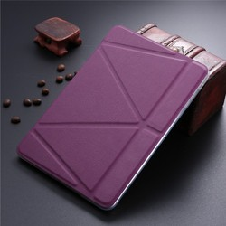 LETSVIEW Factory Direct Wholesale Bulk Order Lowest Price PU Flip Leather Case Soft Cheap Back Cover for Ipad Mini 1/2/3
