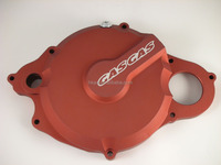 CNC precision milling anodized aluminum clutch cover,motorcycle clutch covers