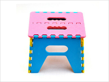 Home House Garden Portable Bench Plastic Folding Step Stool Chair Footstool Cool