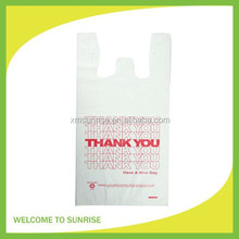 Thank You Printed Carrier Out Bag for Grocery