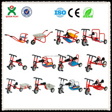 Factory directly supply children kick scooter for sale/kids fitness tricycle/Tricycle with two back seats QX-177F