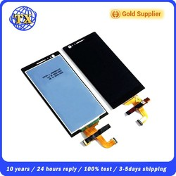 hot sale spare parts of mobile phone for Sony lt22 lcd and touch screen digitizer display