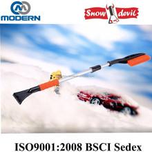 Heavy-duty Telescopic Snow Brush with Ice Scraper for Car