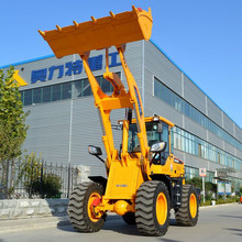 hot sale chinese new front farm tractor with front end loader