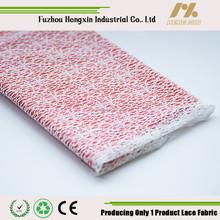 fuzhou new design swiss hot sell white nylon cord lace fabric for wedding dress garment underwear wholesale high quality fashion