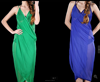 2015 OEM wholesale cheap chiffon summer one size sexy ladies Open Back Wrap Front swimwear beach cover up dress