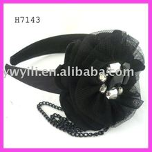 Fashion magnetic flower hair band