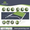 Elegante componentes toldos/toldos de peças de reposição/toldos de alumínio perfil