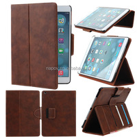 2014 New Mobile Phone Accessories Shenzhen PC+PU Leather Case for Ipad Air