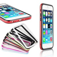 BRG Slim Thin Transparent PC Cover Case With Crystal Clear Anti-Scratch And Rubber Bumper for iPhone 6
