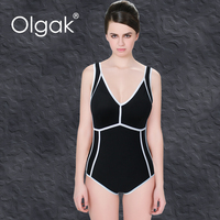 Olgak 2016 New Style Women With Padded One Piece Swimsuit