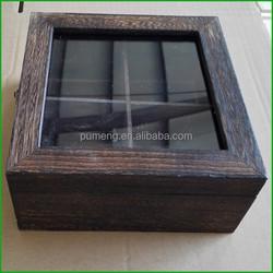 Home Decorative Wooden Storage Box Wooden Tea Chest
