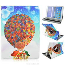 Colorful Hot-air Ballon Rotate Flip Stand PU Leather Cases For Samsung Galaxy Tab A 9.7inch T550