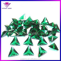 Synthetic Diamond artificial triangle gemstone rough uncut price for sale