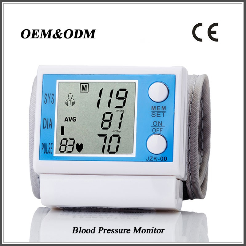 Pressure Measuring Instruments : Wrist type pressure measuring instruments blood