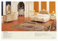 antique reproduction french furniture- baroque style furniture bed