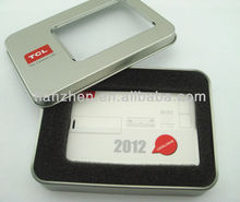 1GB-64GB ABS Plastic 2012 TCL air-condition promotion card usb flash disk for promotion