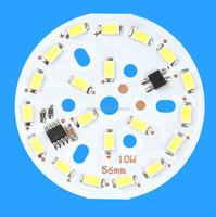 9w 10w bulb pcb downlight pcb 5730 led chip mcpcb 220V electronic circuit board design factory