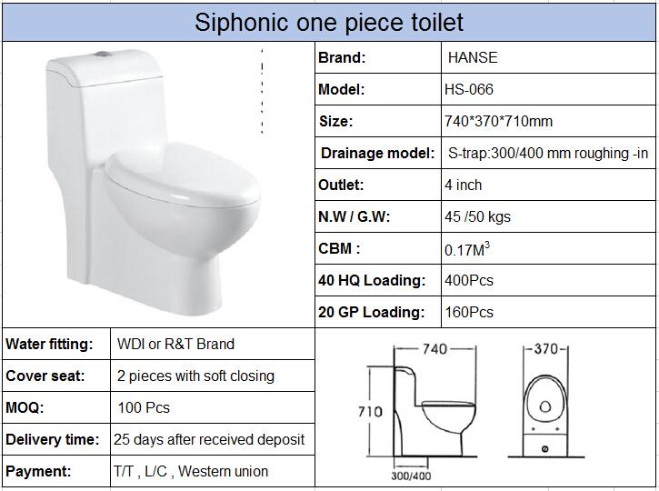 Hs 066 standard toilettes dimensions toilettes for Dimensiones de un inodoro