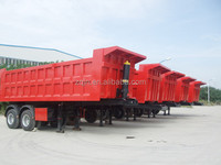 3 axles 60 tons tipper semi trailer tipper tractors