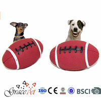 [Grace Pet] Doy fishion toys /Football shape with Sound for dogs