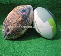 2013 Best Selling Custom Fashion Colorful Mini Neoprene American Football Rugby Ball
