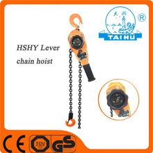Taihu small construction crane With manual chain hoist