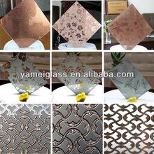 Venta caliente! China fabricante arte en vidrio decorativo