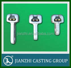 socket clevis tongue with split pins end fittings