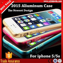 2015 New Updating Fashion Aluminum Case For iphone 5 5s, Aliuminum Bumpers For iphone 5,Metal Case For iphone 5 5s