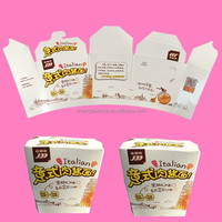 Eco friendly paper bowl for popcorn packaging