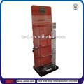 Tsd-a561 de China por encargo de la fábrica prismáticos del soporte de exhibición / de acrílico de madera estantería / con cerradura de la pantalla de plexiglás gabinete
