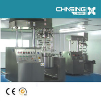 Skillful Manufacture Cosmetic Lab Vacuum Homogenizing Emulsifier Mixer