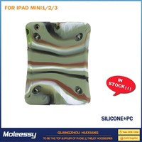 Waterproof for ipad mini 2 leopard stand case