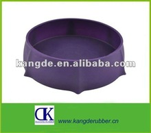 silicone travel pet bowl for dog