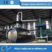 Used Engine Oil Waste to Wealth Continuous Automatic Refining Lub Oil Machine