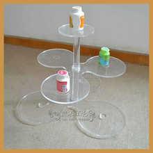 pop design mini cake stand for wedding cake display