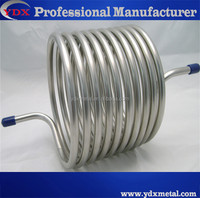 Techniques SatinTechniques Satin/Hairline Spiral Stainless Steel Pipe/Tube Malay Tube