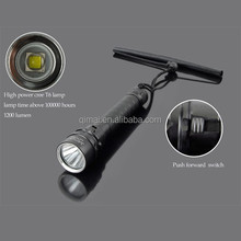IP 68 Waterproof High Power 10 Watt Rechargeable diving flashlight, diving led flashlight, diving powerful led flashlight
