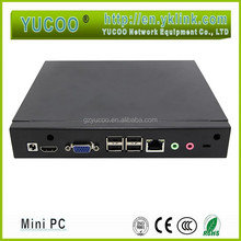 Features Outstanding Fashionable Ubuntu Mini PC/NETTOP Bay Trail CPU supports VGA USB2.0 USB3.0