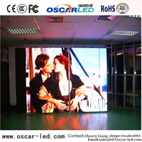 flexible movie screen custom made folding p10 indoor advertising led display