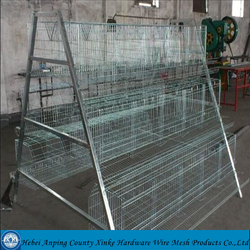 A type chicken breeding cage and layer egg chicken cage