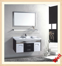2015 New Model Stainless Steel mirrored bathroom vanity 8826