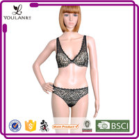 Made in China Fitness Young Lady Unique Hot Sexy Underwear And Bra