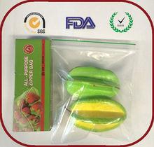 Xiamen Food grade material ldpe zip lock bag plastic