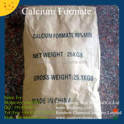China suppier CAS 544-17-2 organic salt calcium formate 98 (calcium diformate 98)