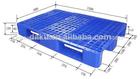 Wdl- 1208wch8- heavy duty paletes 8 com barras de ferro