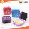 Wholesale Branded Fashion Pretty Cheap Cute Plastic Custom Contact Lens Cases