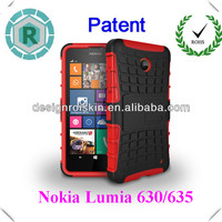 Newest mobile phone cover for Nokia 630,hybrid robot case for Nokia 635
