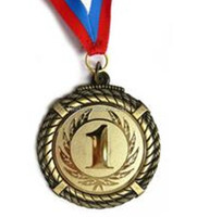 3D plastic medallion, gold plastic medallion, awards plastic medallion